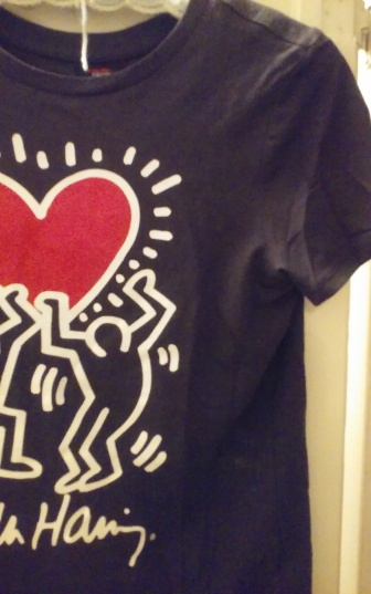 Black Keith Haring art tee from Forever 21 (4)